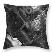 Alexia Curious Throw Pillow