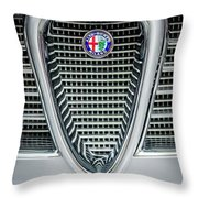 Alfa-romeo Grille Emblem Throw Pillow