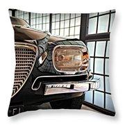 Alfa Romeo In Black Throw Pillow
