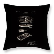 Alfa Romeo Patent 1953 Throw Pillow