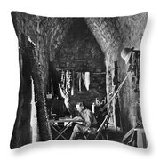 Alfred Percival Maudslay Throw Pillow