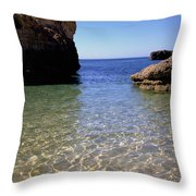Algarve I Throw Pillow