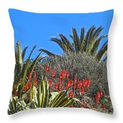 Algarve Plants Throw Pillow