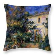 Algiers Landscape 1895 Throw Pillow