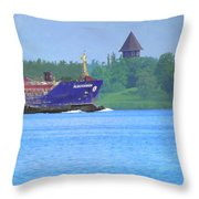 Algocanada Throw Pillow