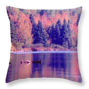 Algonquin Autumn Throw Pillow