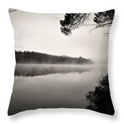 Algonquin Fog Throw Pillow