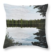 Algonquin Park Throw Pillow