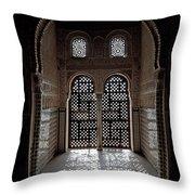 Alhambra Window Throw Pillow