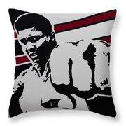 Ali Throw Pillow by Alexander Fritz