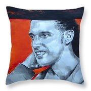 Ali B Throw Pillow