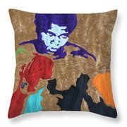 Ali The Greatest  Throw Pillow