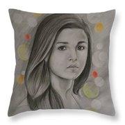 Alia Bhatt Throw Pillow