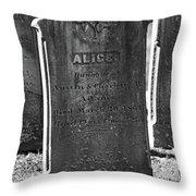 Alice Adams Throw Pillow