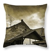 Alice Does Not Live Here Anymore Throw Pillow
