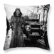 Alice Huyler Ramsey, American Throw Pillow
