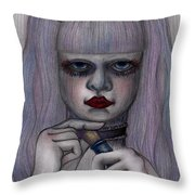 Alice In Another World Throw Pillow