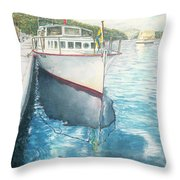 Alice May  Throw Pillow