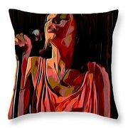 Alice Smith Throw Pillow