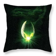 Alien 1979 Throw Pillow