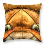 Alien Bug Throw Pillow