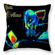 Cosmic Ac Throw Pillow