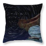 Alien Communication Throw Pillow