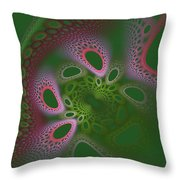 Alien Design Throw Pillow