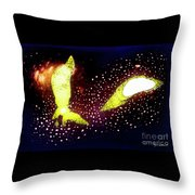 Alien Life Throw Pillow