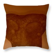 Alien Or Native Throw Pillow
