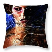 Alien Princess Throw Pillow