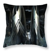Alien Sanctuary Throw Pillow