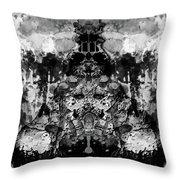 Aliena - Monochromatic Throw Pillow