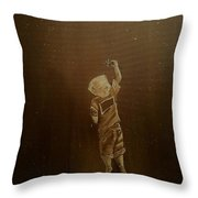 Aligning His Stars Throw Pillow