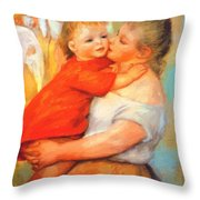 Aline And Pierre 1887 Throw Pillow