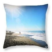 Aliso Viejo Beach Throw Pillow