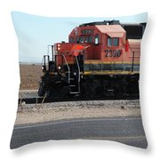 All Aboard 2390 Throw Pillow