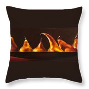 All Aboard Throw Pillow by Shannon Grissom