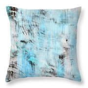 All About Blue Throw Pillow