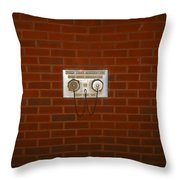 All Alone Pump Test Throw Pillow