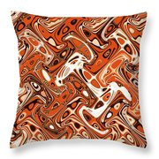 All Art Abstract #3  Throw Pillow