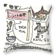 All Aspects Of China  Throw Pillow