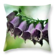 All Becomes Festival Throw Pillow by Rebecca Sherman