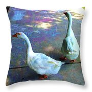 All Chalked Up Throw Pillow
