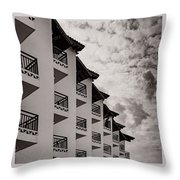 All Decked Out Throw Pillow