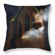 All Hallows Throw Pillow
