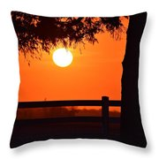 All In A Days Work On The Farm Throw Pillow