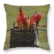 All In A Quiver Throw Pillow