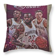 All In Throw Pillow