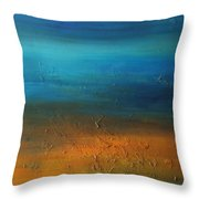 All In Good Time Throw Pillow by KR Moehr